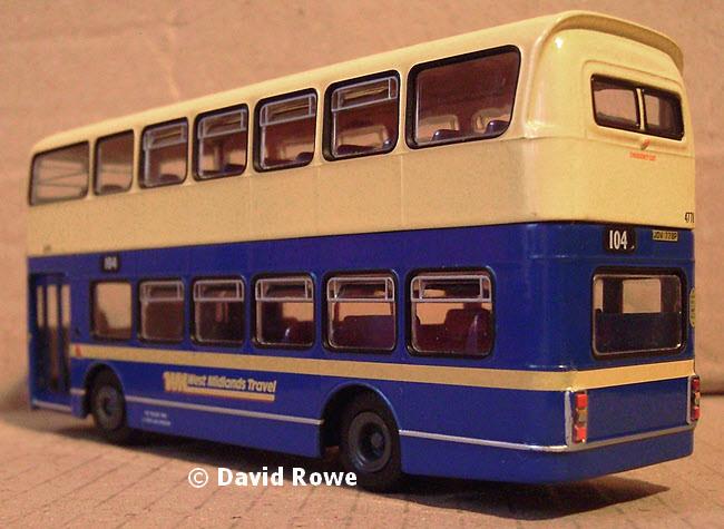 Modelbuszone - ABC Model TRA5005X/U0001 - West Midlands Travel Volva Ailsa/Alexander