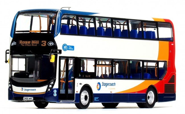 UKBUS 6504 front view