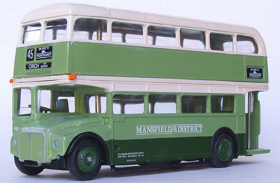 Efe Zone Model 15609 Mansfield District East Midland Motor Services Aec Routemaster Rm
