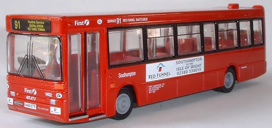 EFE 20650 1:76 OO SCALE Dennis Dart Plaxton Pointer Single Deck Bus Clydeside