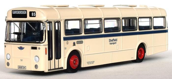 Efe zone model 35212 sheffield transport 6 bay 36 foot for Timetable 85 sheffield
