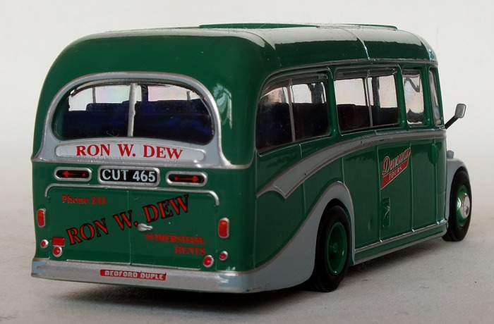 Model Bus Zone Atlas Editions 4642 103 Dewsway Tours