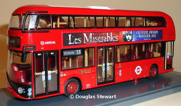 Ooc Zone Model Om46602 Arriva London New Bus For