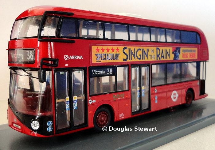 Ooc Zone Model Om46603 Arriva London New Bus For