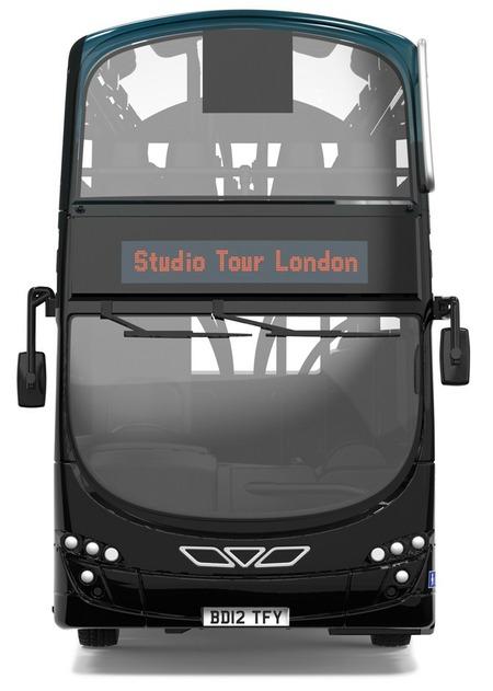 Model Bus Zone Ooc Model Om46511 Harry Potter Warner