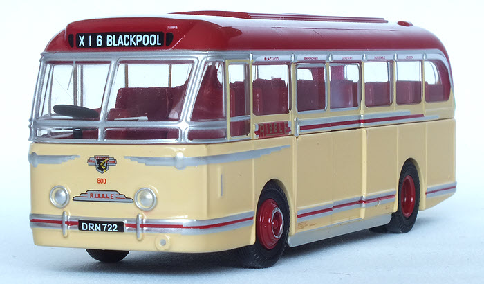 Modelbuszone Oxford Die Cast 76lrt001 Ribble Leyland