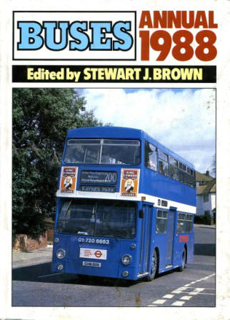 Model Buses Books Annuals